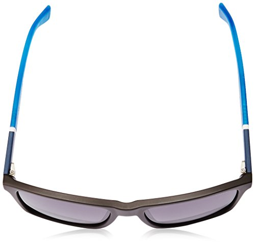 Th1405s Rectangular gray Dark Hilfiger Sunglasses Brown Gradient Blue Tommy gfEwq5RxSR