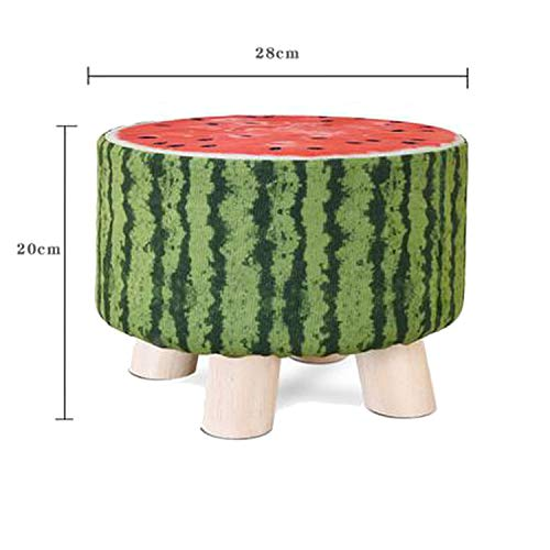 hubble-bubble Sofa Stool Change Shoe Bench, Best Friend Stool, Take It Along in Bedroom, Kitchen, Bathroom and Living Room,Color 14
