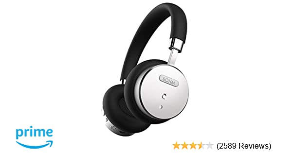 Amazon.com: BÖHM B66 On Ear Wireless Bluetooth Headphones with Active Noise Cancellation: Home Audio & Theater