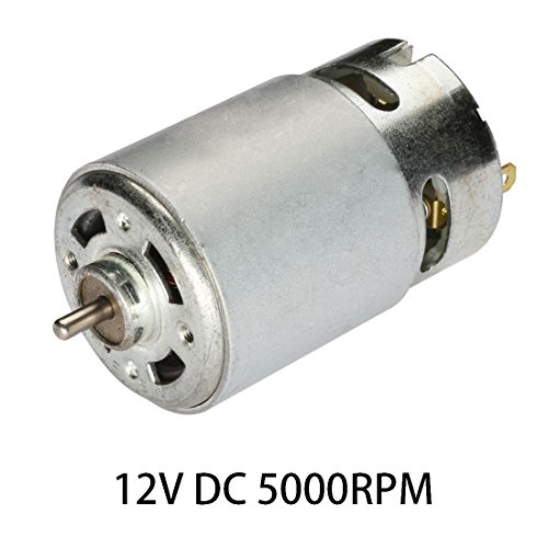 uxcell 12V DC 5000RPM High-power Torque Magnetic Micro Motor 2