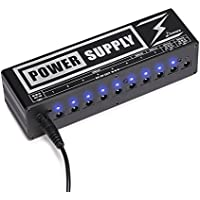 Donner DP-2 Guitar Pedal Power Supply High Current 10...