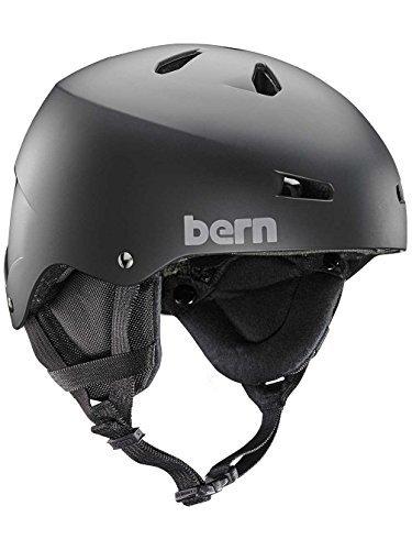 Macon Helmet Matte - Bern Team Macon Snow Helmet Matte Black XL