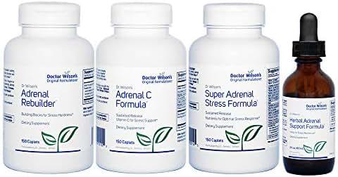 Doctor Wilson's Original Formulations Adrenal Fatigue Protocol HASF Large