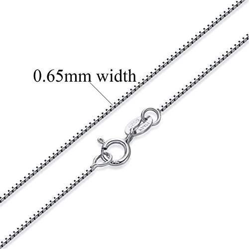 Used, spyman Women Authentic 925 Sterling Silver Box Chain for sale  Delivered anywhere in USA