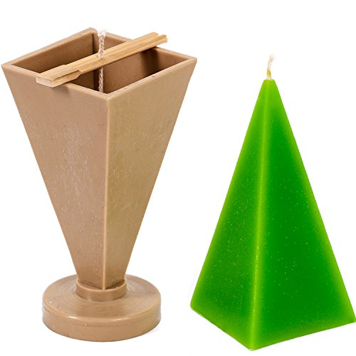 Candle Shop - Pyramid mold - height: 6.3 in, width big image