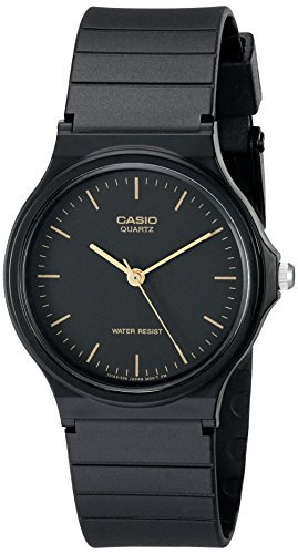 Casio+Men%27s+MQ24-1E+Black+Resin+Watch
