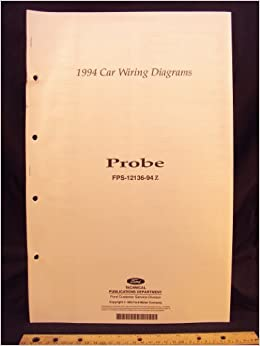 1994 Ford Probe Electrical Wiring Diagrams Schematics Ford Motor Company Amazon Com Books