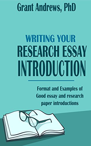 Research Essay Introduction Format And Examples Essay And Thesis  Research Essay Introduction Format And Examples Essay And Thesis Writing  Book  By