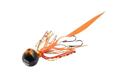 Abu Garcia(アブ・ガルシア) メタルジグ カチカチ玉 60g+5g SSKKD60+5-SHOR シュリンプオレンジ.の商品画像