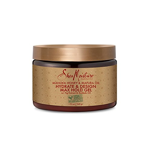 SheaMoisture Jamaican Black Castor Oil Strong Hold Gel 12oz,