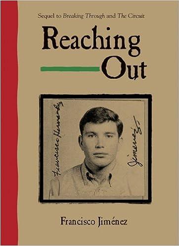 Reaching Out: Francisco Jiménez: 9780547250304: Amazon com