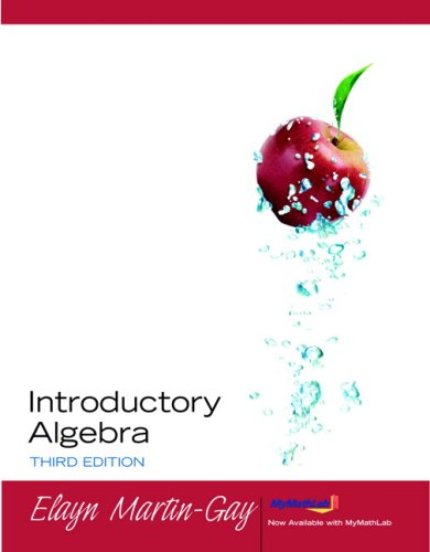 Introductory Algebra Value Package (includes MyMathLab/MyStatLab Student Access Kit) (3rd Edition)