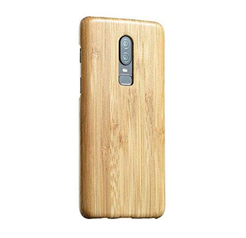 newest collection e9b3f 32cf7 Amazon.com: OnePlus 6 Bamboo Case,DAYJOY Luxury Ultra Thin Ultra ...
