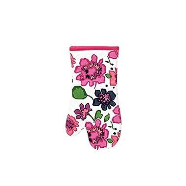 Kate Spade Festive Floral Oven Mitt, 7 x 13