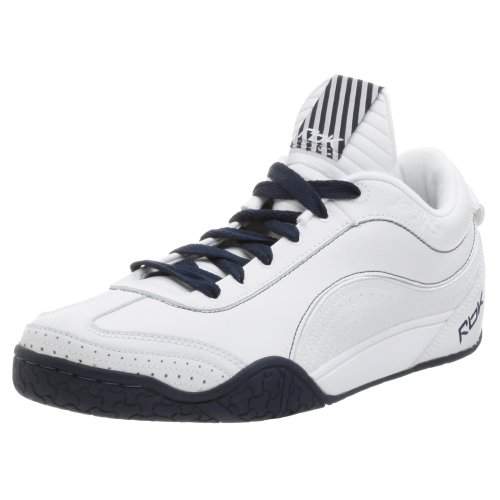 Reebok Men's Daddy Yankee Sneaker,White/NVY,7 M (Daddy Yankee Shoes)