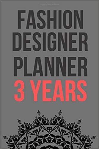 Amazon Com Fashion Designer Planner 3 Years Planner 3 Year Monthly Organizer Agenda With 36 Months Superhero Planner For Gift Schedule Monthly And Calendar 9781675253878 Aresmouk Hafsa Books