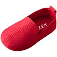 Axinke Infant Toddler Boys Girls Slip-on Artificial Leather Loafers Flats