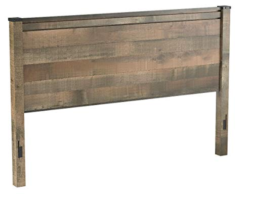 Ashley Furniture Signature Design - Trinell King/Cal King Panel Headboard - Component Piece - Brown