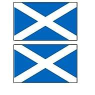 2 Scotland Scottish Flag Magnets Refrigerator Locker Toolbox Appliances