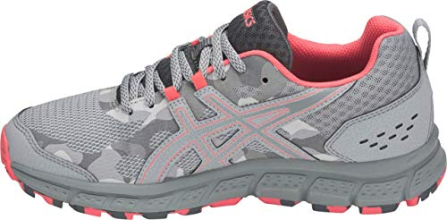 ASICS Gel-Scram 4 Women's Running Shoe, Mid Grey/Stone Grey, 5 B(M) US by ASICS (Image #1)