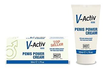 Hot v-activ hombre crema potenciadora de la ereccion: HOT: Amazon.es: Salud y cuidado personal