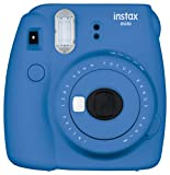Fujifilm Instax Mini 9 Instant Point and Shoot Camera (Cobalt Blue)