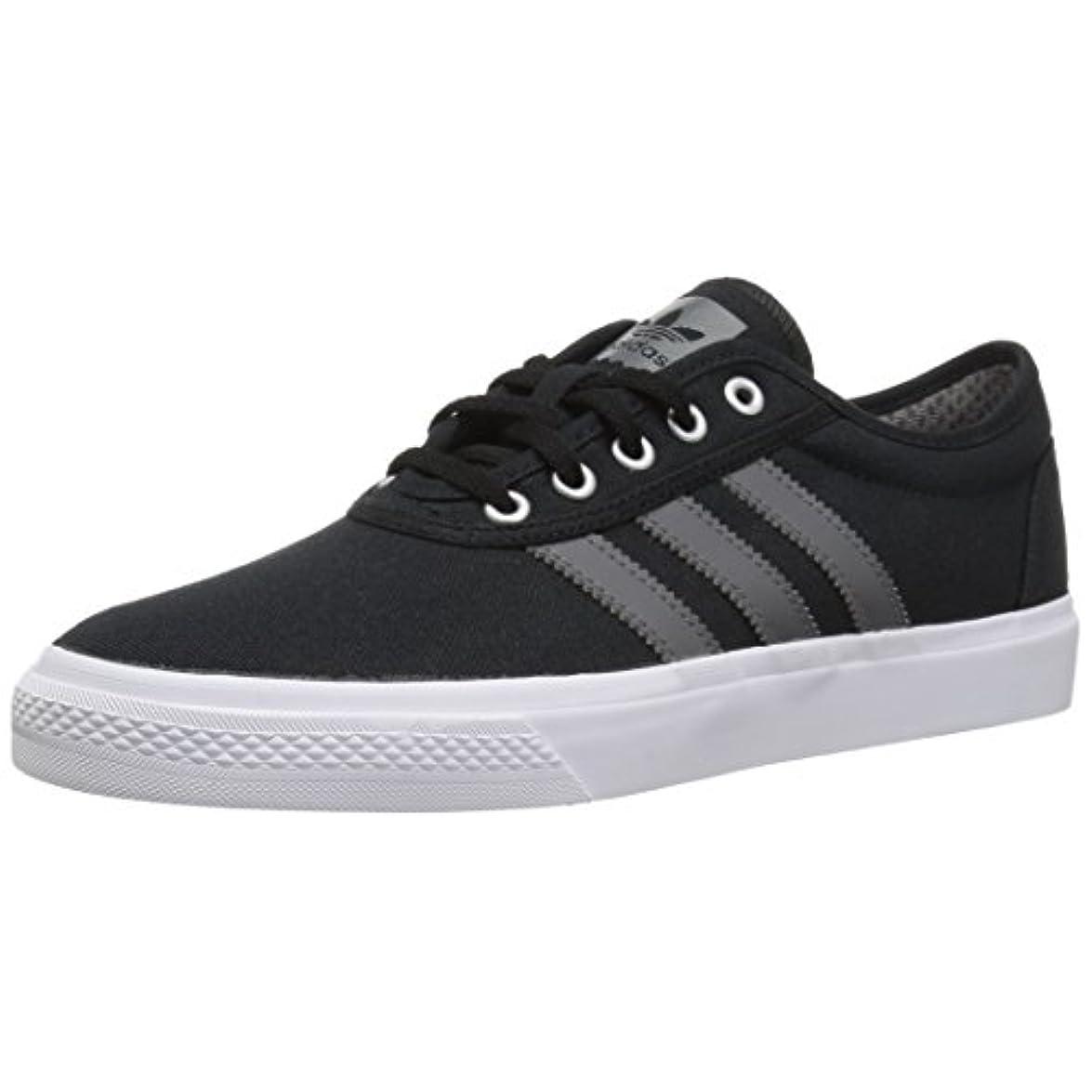 Adidas Originals Adi-ease Skate Shoe Black grey white 4 5 M Us