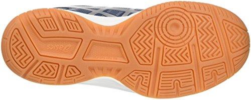 Asics Gel-Upcourt W, Zapatillas De Voleibol para Mujer Multicolor (Poseidon/Silver/Aquarium)