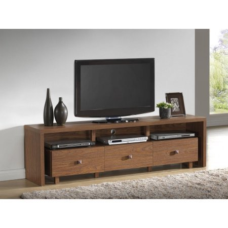 MattsGlobal Palma 3 Drawer TV Cabinet, Multiple finishes TVs up to 70