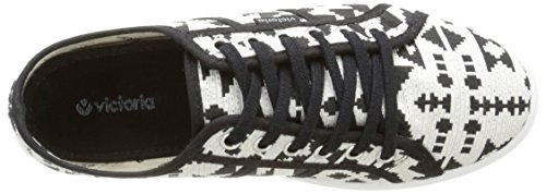 Etnico Basket Plataforma Victoria 10 noir Unisex Adulto Sneaker Nero Negro q57BBp