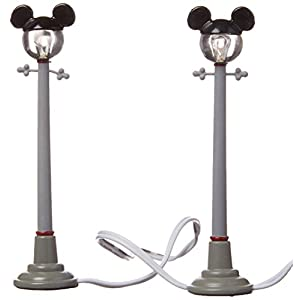 Department 56 Disney Village Mickey Street Lights General Accessory, 4.375 inch