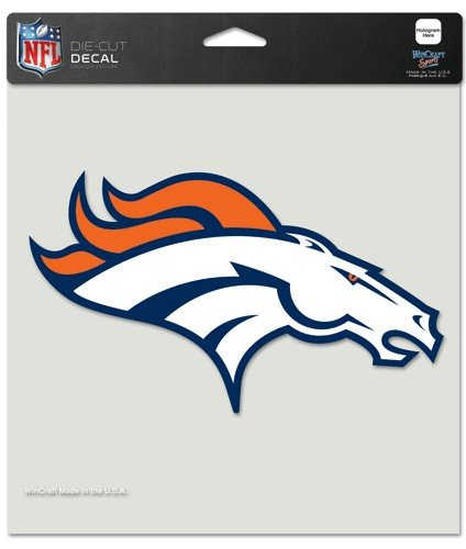 Wincraft NFL Denver Broncos Perfect Cut Color Decal, 8