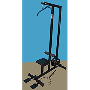 Family Lat/row Machine (Black) by NYB