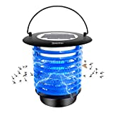 9. Diaotec Bug Zapper Solar Power Wireless Insect Mosquito Killer Electronic Pest Control Led Lamp for Camping, Hiking and Fishing Night Light