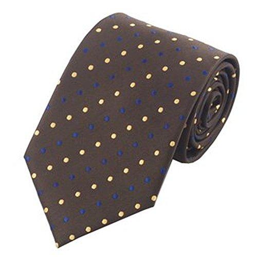 Jason&Vogue - Corbata - Lunares - para hombre marrón marrón ...