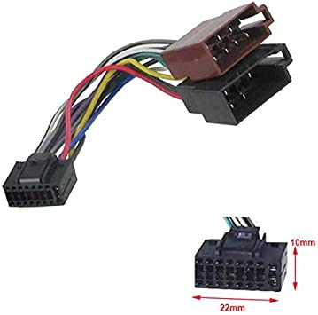 Sound Way Kabeladapter Kabelbaum Iso Kompatibel Mit Elektronik