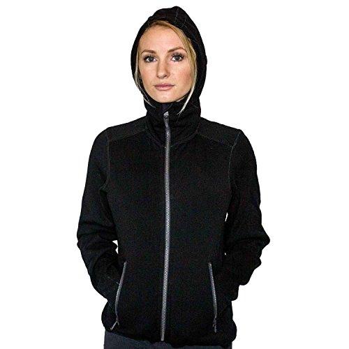 WoolX X750 Womens Cubby Jacket - Black - XSM by WoolX (Image #5)