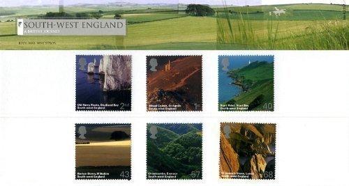 2005 South West England Royal Mail Stamp Presentation Pack No.368 ()