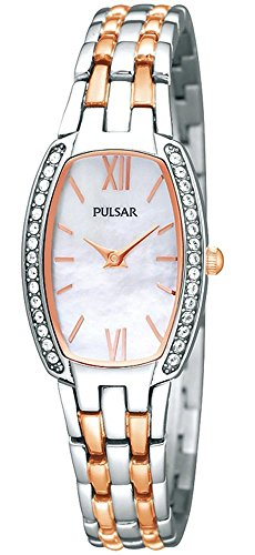 Pulsar by Seiko Two-tone Stainless Steel Women's watch #PTA493
