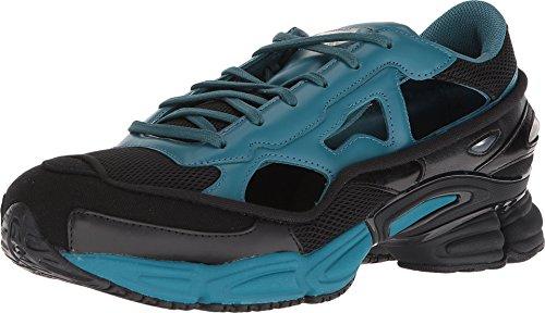 adidas by RAF Simons Men's RAF Simons Replicant Ozweego Core Black/Colonial Blue/Core Black 10.5 D UK