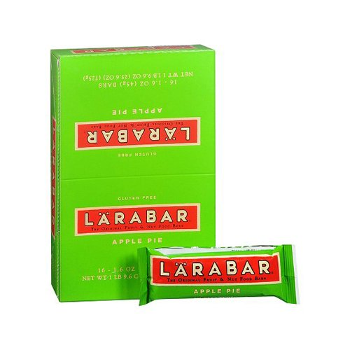 Bulk Saver Pack 96x1.6 OZ : LaraBar - Apple Pie - Case of 16 by LARABAR