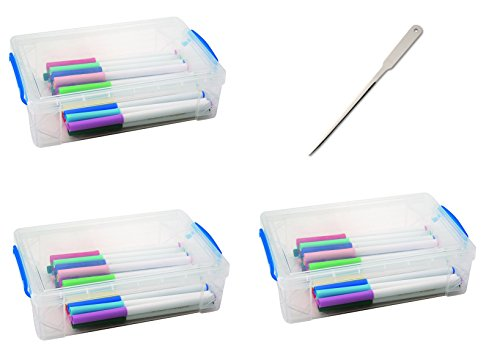 Universal Office Letter Opener - Super Stacker Large Pencil Box, 9