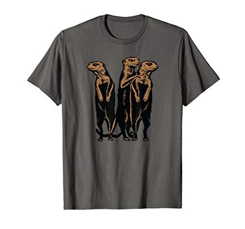 Standing Meerkat - Standing Meerkat Family T-Shirt