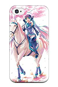 New Style stockings school girls Anime Pop Culture Hard Plastic iPhone 4/4s cases