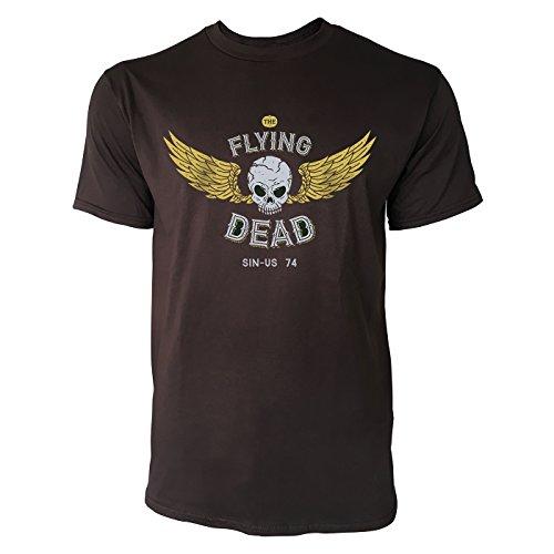 SINUS ART ® Totenschädel mit Flügeln