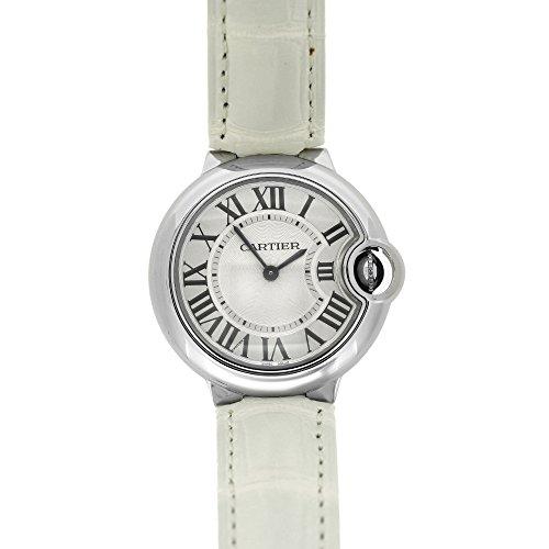 Cartier Ballon Bleu quartz womens Watch W6920086 (Certified Pre-owned) by Cartier