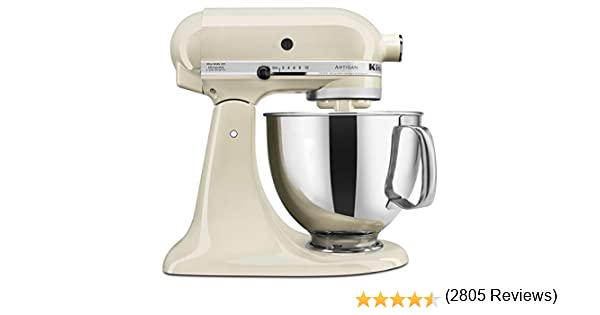 KitchenAid KSM150PS 5 qt. Soporte de la serie Artisan mezclador: Amazon.es: Hogar