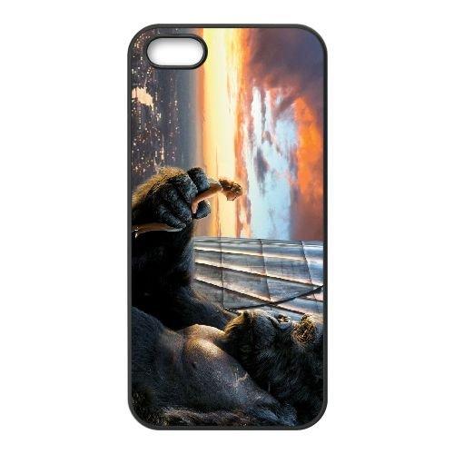 King Kong James Newton Howard Wide coque iPhone 5 5S cellulaire cas coque de téléphone cas téléphone cellulaire noir couvercle EOKXLLNCD25307
