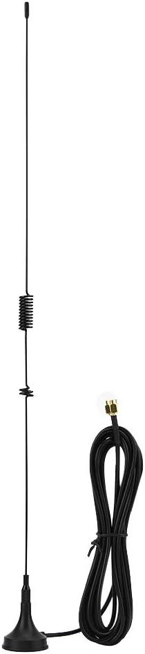 T osuny UHF + VHF Antena magnética de Radio de Coche de Doble ...