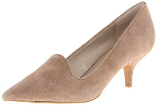 STEVEN by Steve Madden Women's Corry Pump,Taupe Suede,8 M US